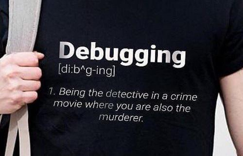 One of us doesn't leave here alive! 👉🤷♂️👈 | debugging-memes, bug-memes, debug-memes | ProgrammerHumor.io