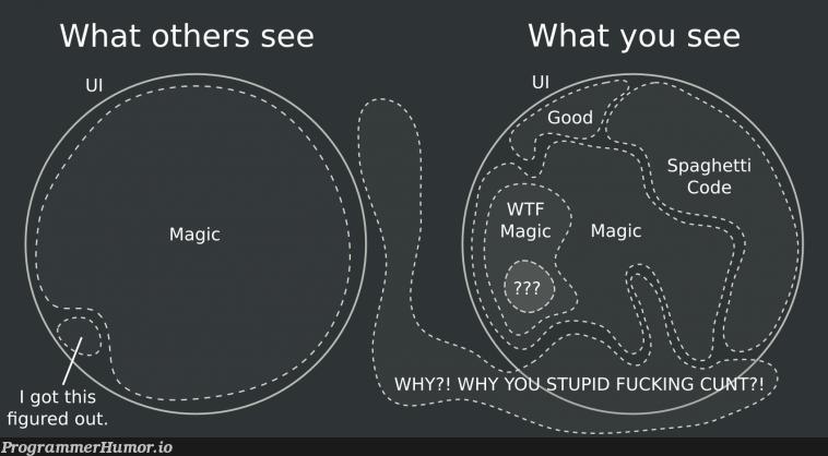 I fixed that UI post.   fix-memes   ProgrammerHumor.io