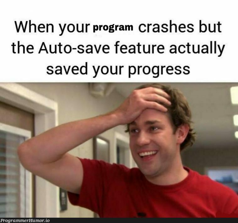 It actually does what it says damn | IT-memes, crash-memes, feature-memes | ProgrammerHumor.io
