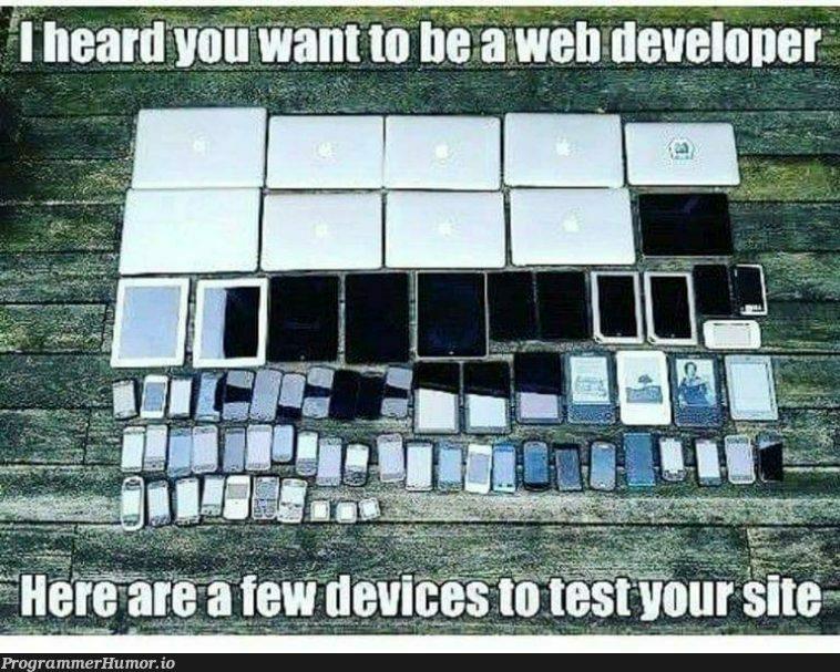 *sad web dev noises*   web-memes   ProgrammerHumor.io
