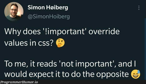 CSS shower thought | css-memes, IT-memes, ide-memes, cs-memes | ProgrammerHumor.io