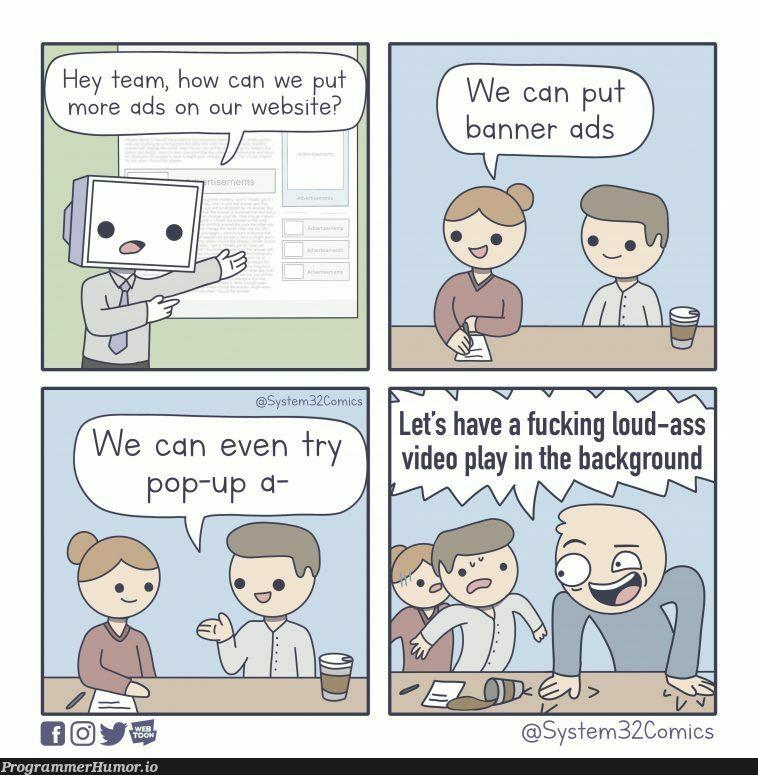 Website Design... | web-memes, design-memes, website-memes, ide-memes, cs-memes | ProgrammerHumor.io