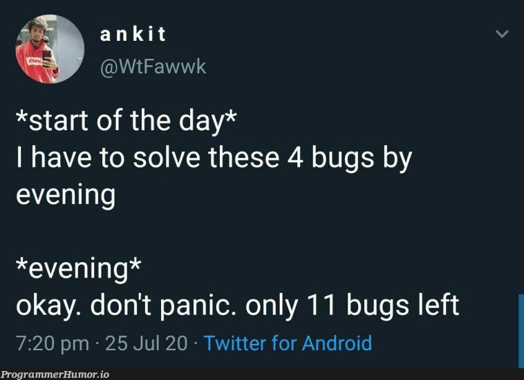 ctrl + zzzzzzz | android-memes, bugs-memes, bug-memes, twitter-memes | ProgrammerHumor.io
