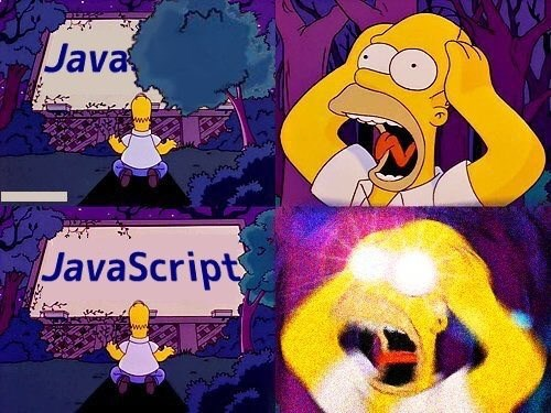 help, I'm being forced to use JavaScript against my will   javascript-memes, java-memes   ProgrammerHumor.io