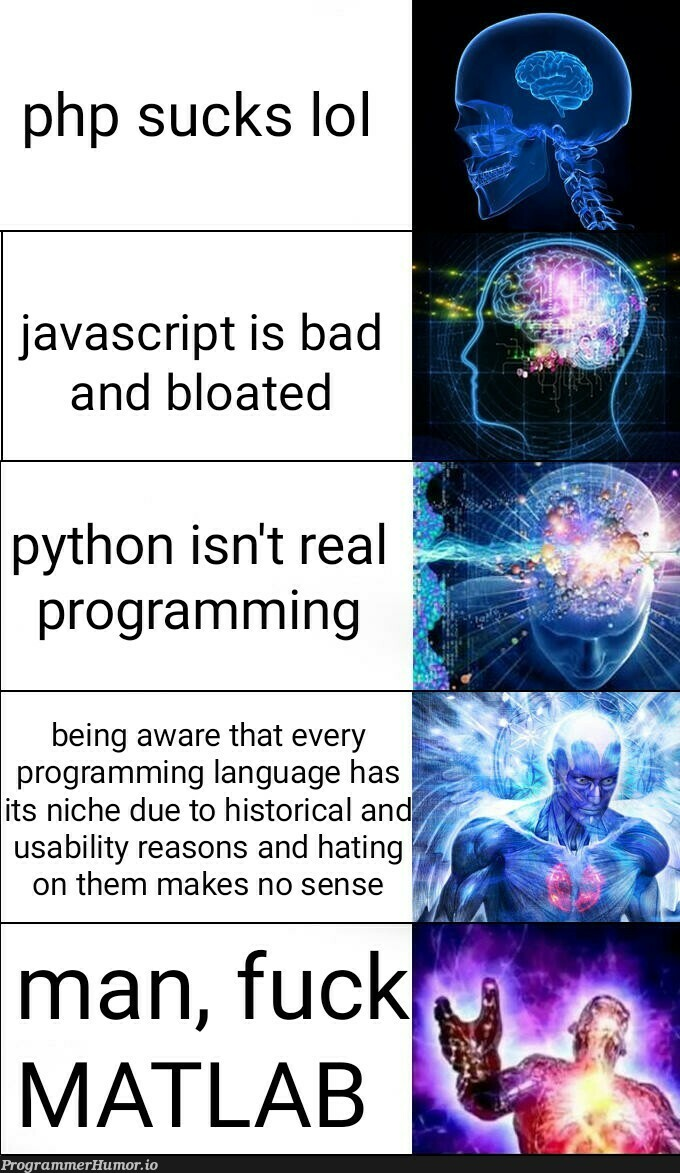 Have you ascended yet?   programming-memes, javascript-memes, php-memes, java-memes, python-memes, program-memes, matlab-memes, language-memes, programming language-memes   ProgrammerHumor.io