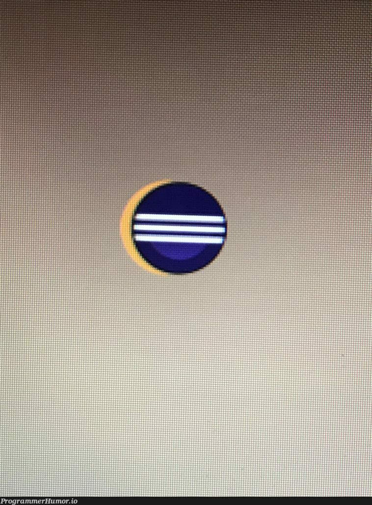 I was able to get a decent shot of the eclipse with my phone. | ux-memes, eclipse-memes, cli-memes, IT-memes, ecli-memes, ide-memes | ProgrammerHumor.io