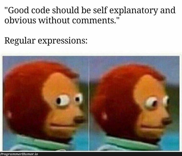 ^((25[0-5] 2[0-4][0-9] [01]?[0-9][0-9]?).){3}(25[0-5] 2[0-4][0-9] [01]?[0-9][0-9]?)$   code-memes, express-memes, comment-memes, regular expression-memes   ProgrammerHumor.io