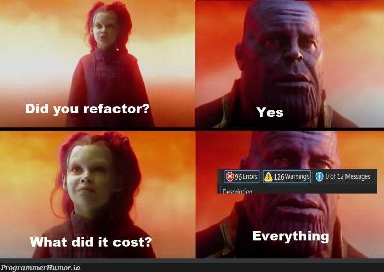 git reset --hard | git-memes, IT-memes | ProgrammerHumor.io