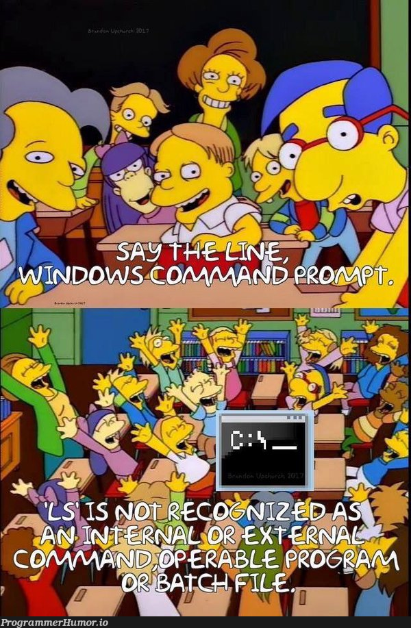 windows command | command-memes, windows-memes | ProgrammerHumor.io