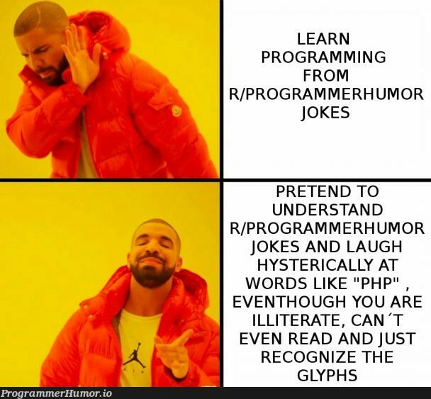 Why even learn programming?   programming-memes, programmer-memes, php-memes, program-memes, rds-memes   ProgrammerHumor.io