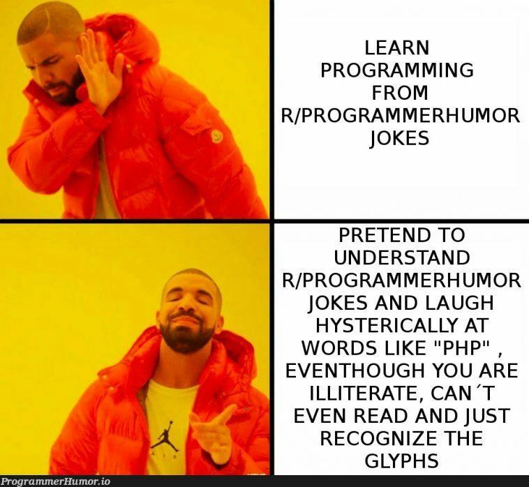 Why even learn programming? | programming-memes, programmer-memes, php-memes, program-memes, rds-memes | ProgrammerHumor.io