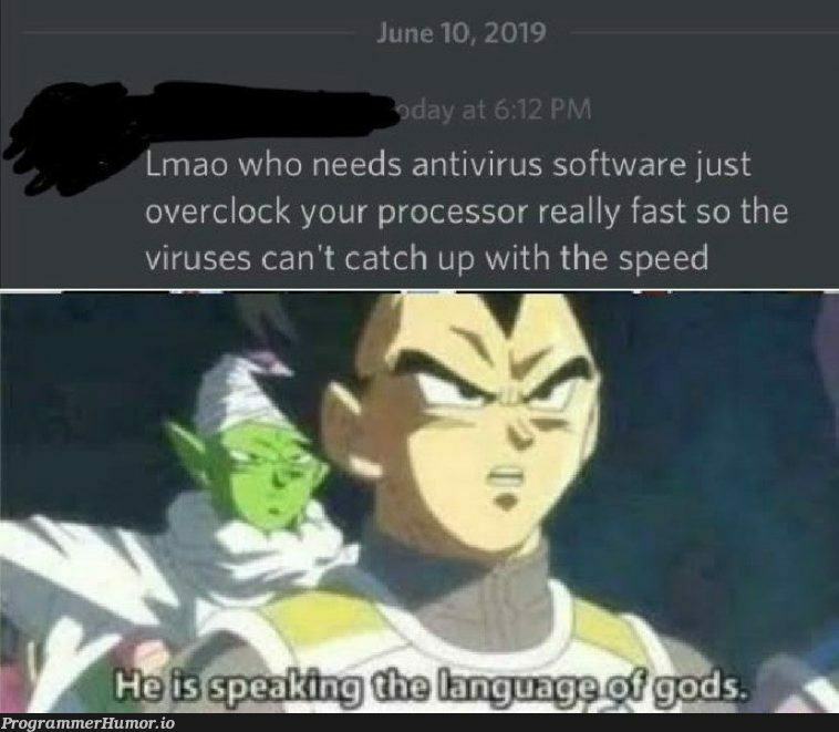 The coding God | coding-memes, software-memes, catch-memes, loc-memes, virus-memes, antivirus-memes, lock-memes | ProgrammerHumor.io