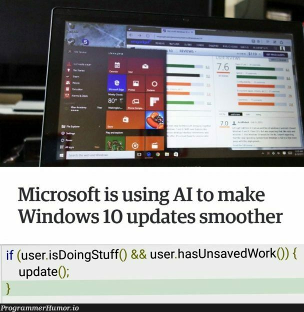 AI you say? | windows-memes, date-memes, microsoft-memes | ProgrammerHumor.io