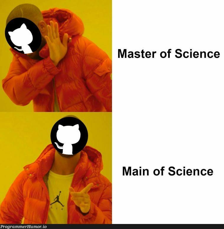 M. Sc. = Man of Science?   ProgrammerHumor.io