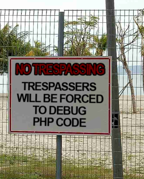 forget about trespassers will be shot, this is how programmers threaten others   programmer-memes, program-memes   ProgrammerHumor.io