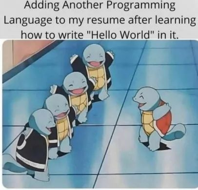I have learned Ruby this weekend   programming-memes, program-memes, ruby-memes, language-memes, programming language-memes   ProgrammerHumor.io