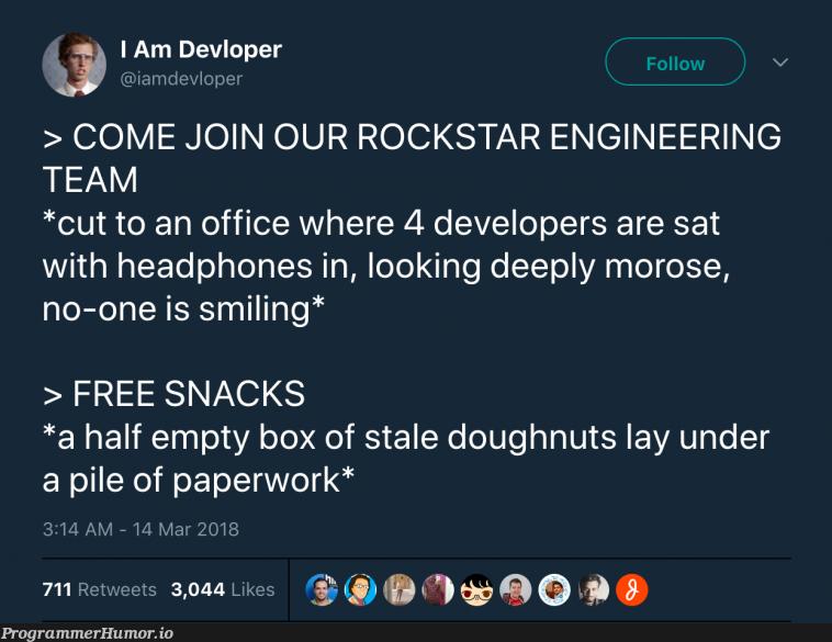 Tech Team Promises | developer-memes, tech-memes, engineer-memes, engineering-memes, retweet-memes | ProgrammerHumor.io