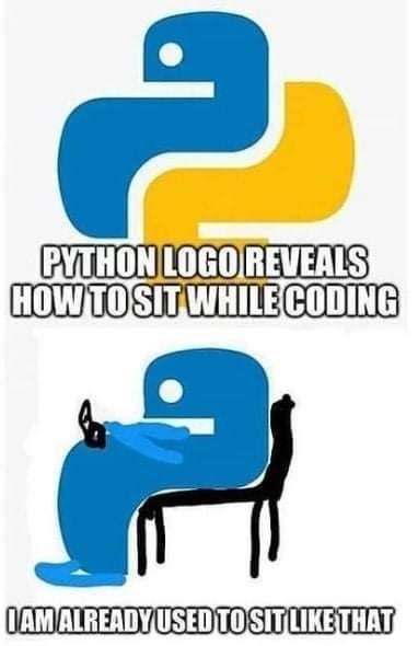 How to sit while coding | coding-memes | ProgrammerHumor.io