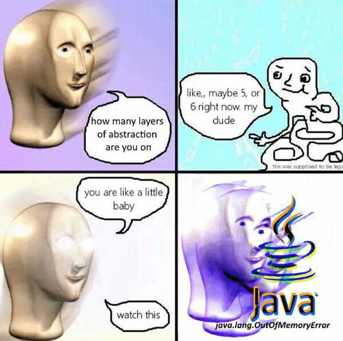 MFW no pointers :( | pointers-memes | ProgrammerHumor.io