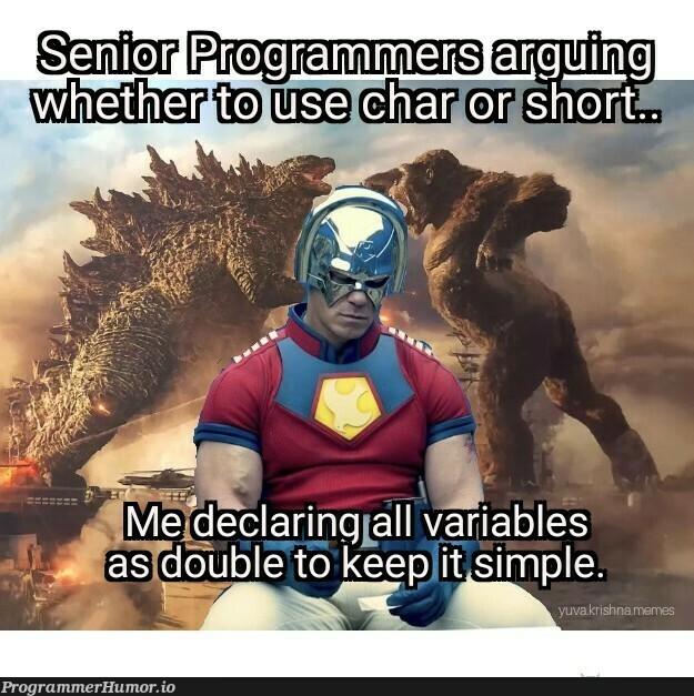 0.000000 looks good | variables-memes | ProgrammerHumor.io