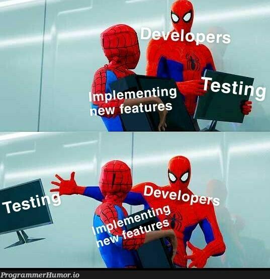 New development methodology | development-memes | ProgrammerHumor.io