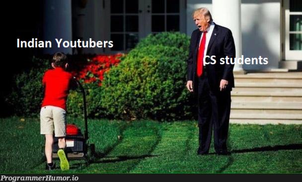 The backbone of society   indian-memes, youtube-memes   ProgrammerHumor.io