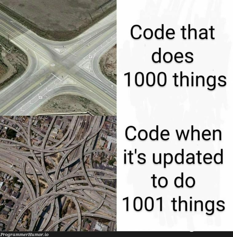 Manager: You just need to add this one small functionality.   code-memes, function-memes, date-memes, manager-memes   ProgrammerHumor.io