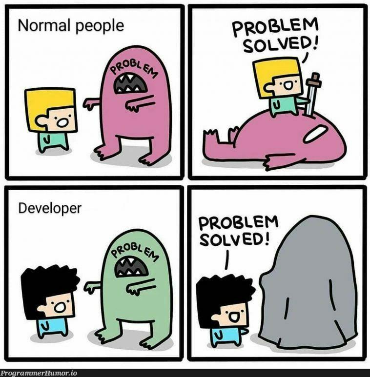 Based on true story   developer-memes   ProgrammerHumor.io
