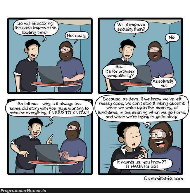 It Haunts Us | code-memes, security-memes, IT-memes | ProgrammerHumor.io
