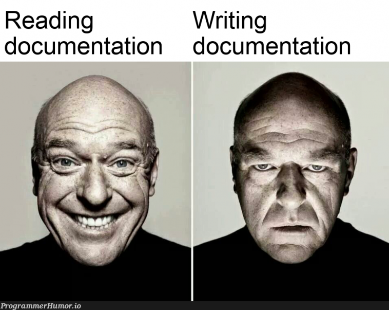 I Hate? Documentation   documentation-memes   ProgrammerHumor.io