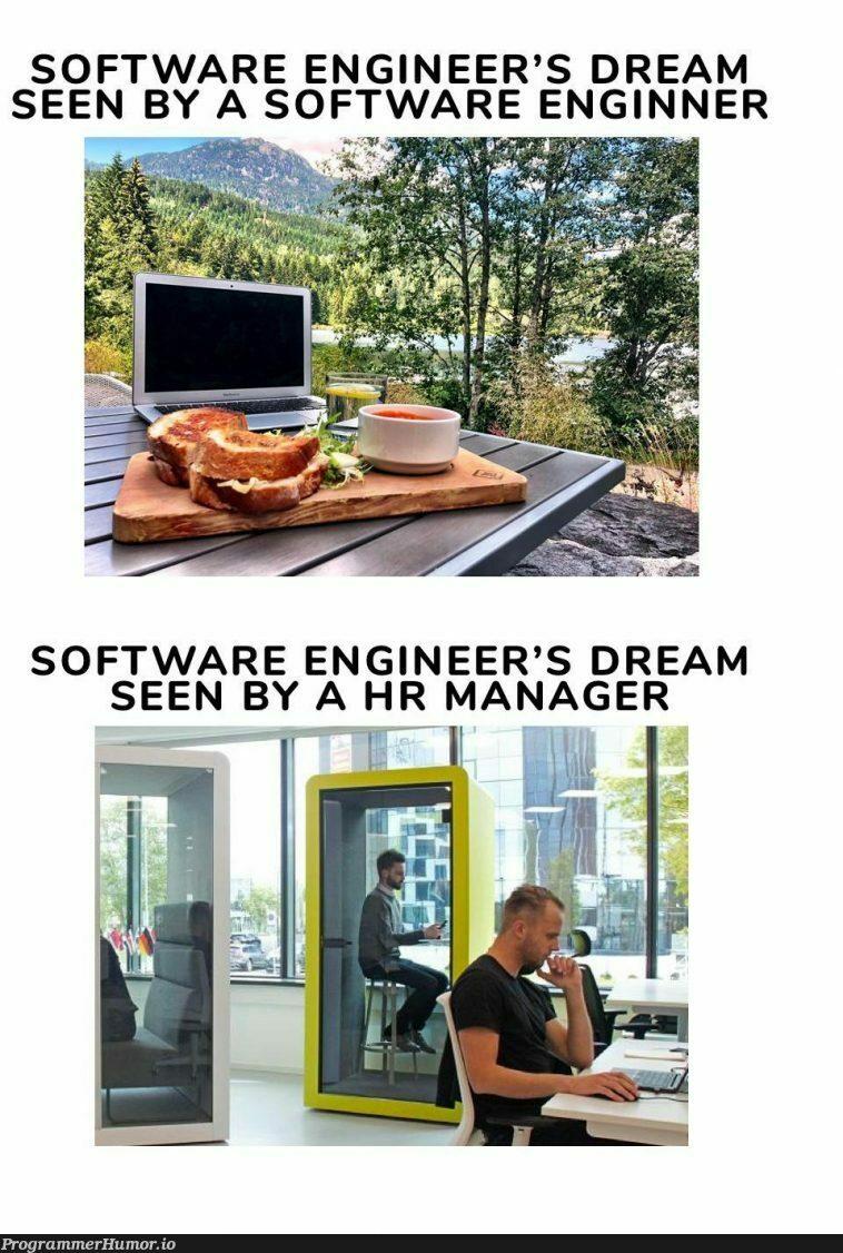 1 job, 2 dreams ss   ProgrammerHumor.io