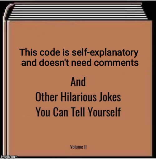 And after a break, you don't remember anything | code-memes, comment-memes | ProgrammerHumor.io