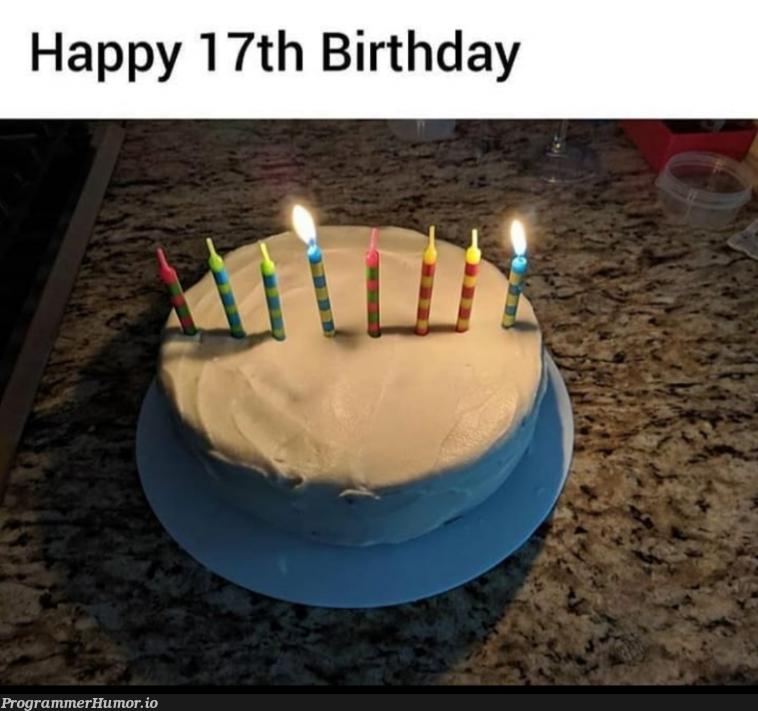 Happy birthday   ProgrammerHumor.io