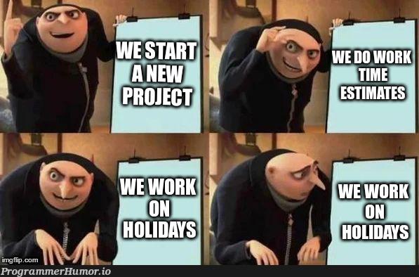 My experience   ProgrammerHumor.io