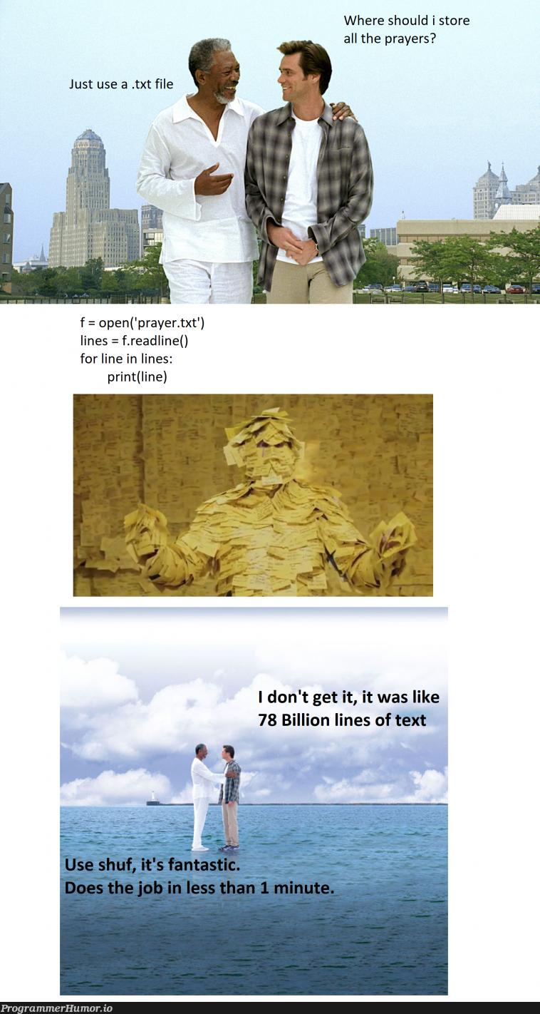 78 Billion Prayers   IT-memes   ProgrammerHumor.io