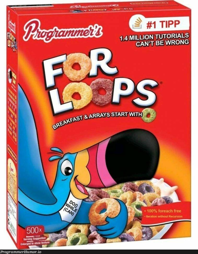 Ah, the Lööps ! | ProgrammerHumor.io