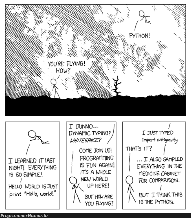 Pretty Much. | programming-memes, python-memes, program-memes, space-memes | ProgrammerHumor.io