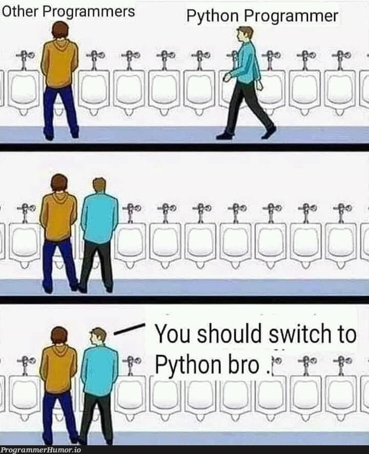 Vegans of the programming world   programming-memes, programmer-memes, python-memes, program-memes   ProgrammerHumor.io