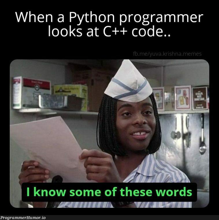 Relatable but different kind.. | programmer-memes, code-memes, python-memes, program-memes, c++-memes, rds-memes | ProgrammerHumor.io