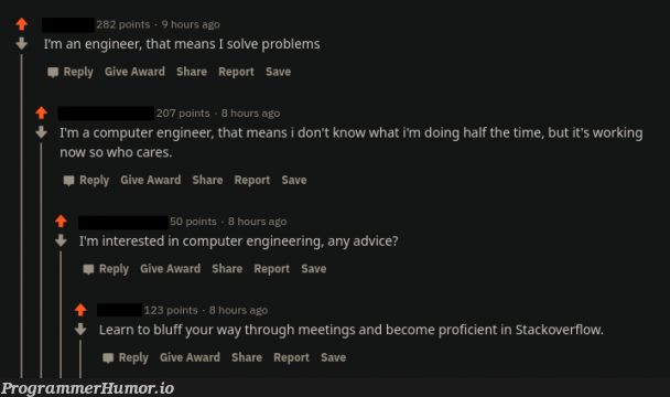 That felt a little bit too specific | computer-memes, engineer-memes, engineering-memes, stackoverflow-memes, stack-memes, rest-memes, overflow-memes | ProgrammerHumor.io