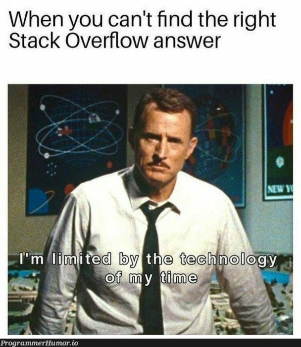 My greatest creation is.... you. | stack-memes, stack overflow-memes, test-memes, overflow-memes | ProgrammerHumor.io