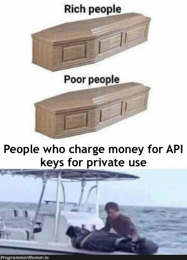There is an extra hell for these people | api-memes, private-memes | ProgrammerHumor.io