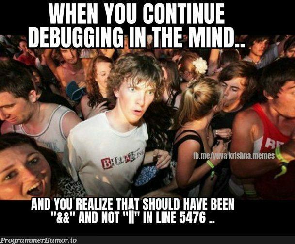 Rebugging | debugging-memes, bug-memes, debug-memes | ProgrammerHumor.io
