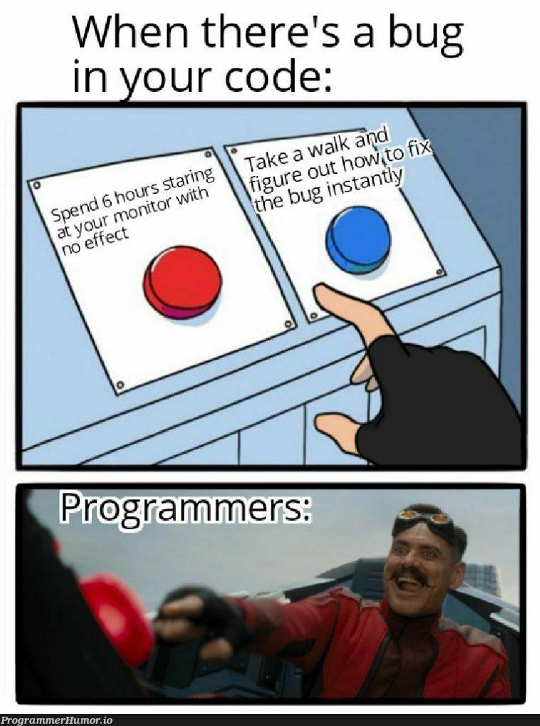Debugging | code-memes, debugging-memes, bug-memes, debug-memes | ProgrammerHumor.io