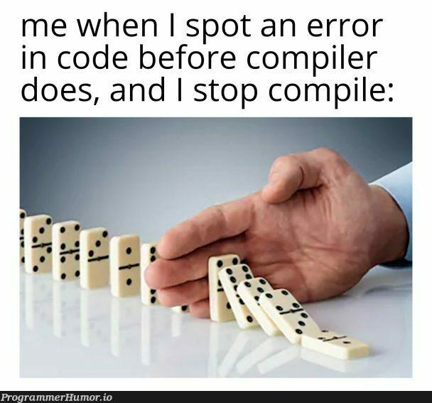 I am speed   code-memes, error-memes, compiler-memes   ProgrammerHumor.io