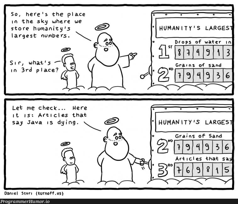 Very large numbers indeed   java-memes   ProgrammerHumor.io