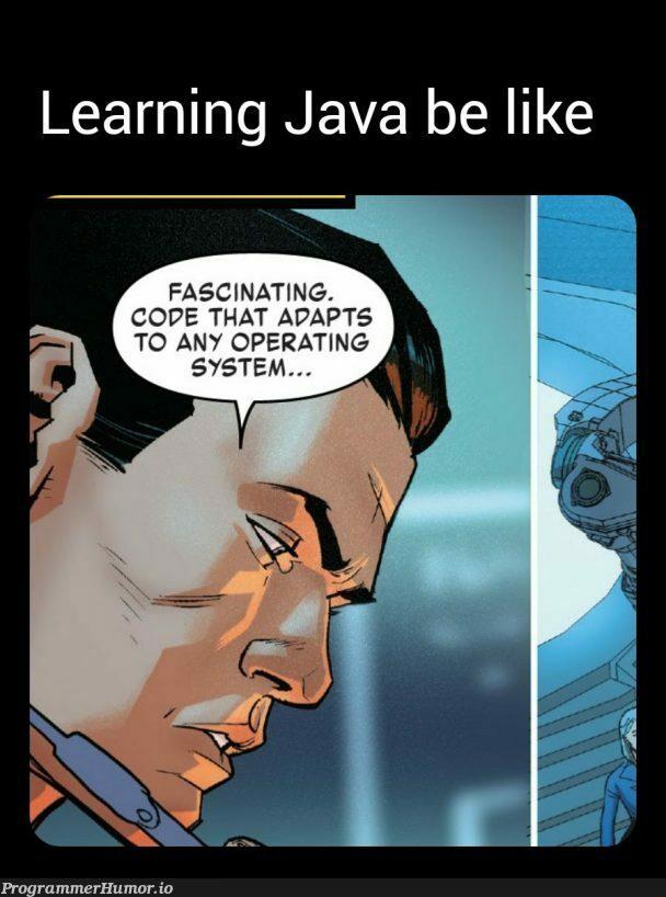 All Hail JVM | java-memes, vm-memes, operating system-memes | ProgrammerHumor.io