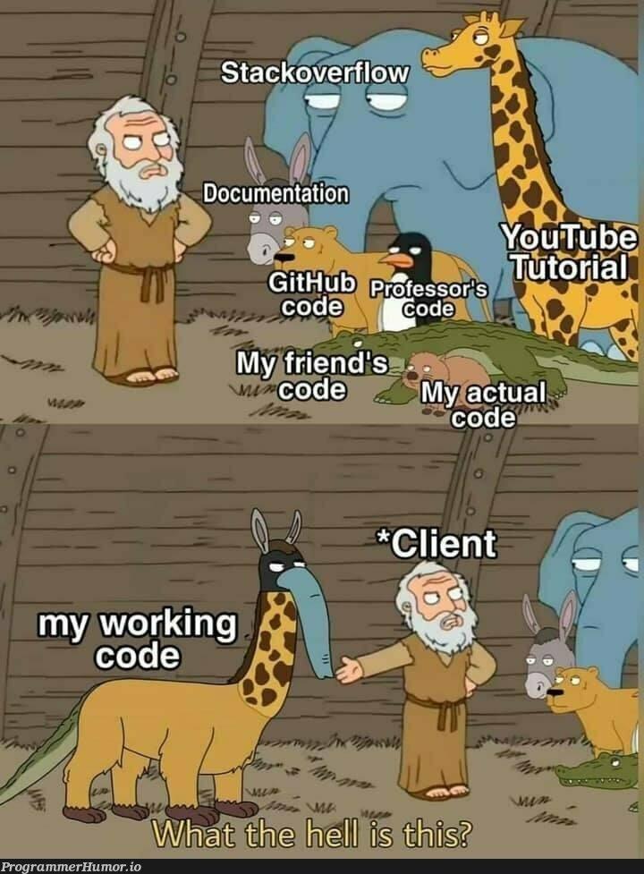 Found this | code-memes, git-memes, github-memes, cli-memes | ProgrammerHumor.io