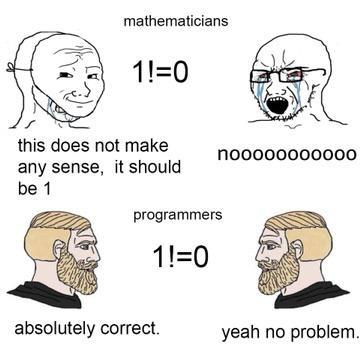 Mathematician vs programmer | programmer-memes, program-memes, IT-memes | ProgrammerHumor.io