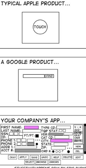 The sad reality of UI   google-memes, apple-memes   ProgrammerHumor.io